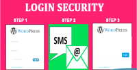 Login security for wordpress authentication factor two