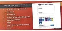Login social for wordpress