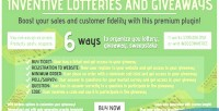 Lotteries inventive & giveaways
