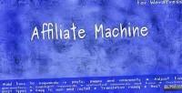 Machine affiliate