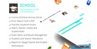 Management school wordpress for system