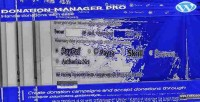 Manager donation pro