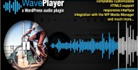 A waveplayer plugin audio wordpress