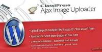 Ajax classipress image uploader