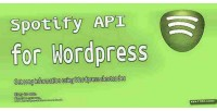 Api spotify for wordpress