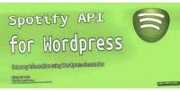 Api spotify for wordpress