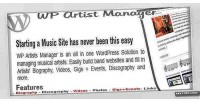 Artist wordpress band manager