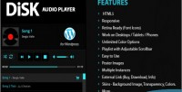 Audio disk wordpress for player