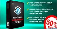 Audio html5 players bundle plugins wordpress