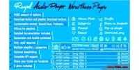 Audio royal plugin wordpress player