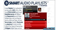 Audio smart playlists