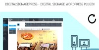 Base digitalsignagepress digital plugin wordpress signage