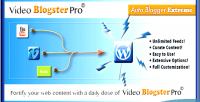 Blogster video pro