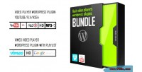 Bundle flash video players mp4 vimeo youtube bundle