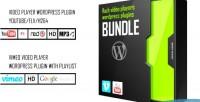 Bundle flash video players mp4 vimeo youtube bundle
