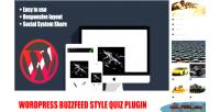 Buzzfeed wordpress plugin quiz style