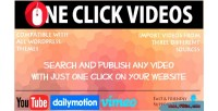 Click one wordpress for videos