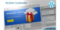 Constructor myslider for wordpress