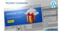 Constructor myslider for wordpress