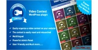 Contest video wordpress plugin