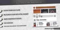 Dj ultimate plugin wordpress manager