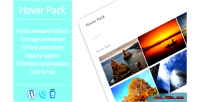 Effects hover plugin wordpress pack