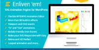 Enliven em svg animation wordpress for engine