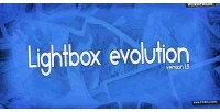 Evolution lightbox for wordpress