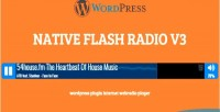 Flash native plugin wp radio