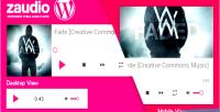 For zaudio wordpress player html5 audio javascript