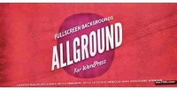 Fullscreen allground wordpress for backgrounds