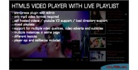 Gallery video live plugin wordpress playlist