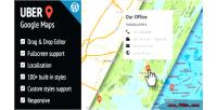 Google uber wordpress for maps