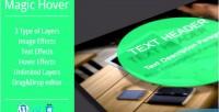 Hover magic wordpress plugin