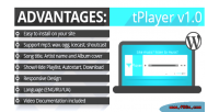Html5 audio player with wp for playlist html5