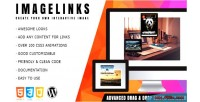 Interactive imagelinks image wordpress for builder