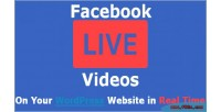 Live facebook embed auto video