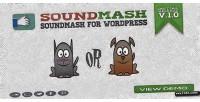 Mash sound wordpress for facemash
