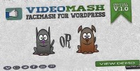 Mash video wordpress for facemash