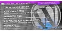 Media web plugin wordpress grabber