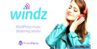 Music windz streaming plugin wordpress service