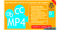 Open beacon mp4 conversion & compression pro ffmpeg with