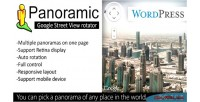Panoramic google street view wp for rotator