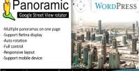 Panoramic google street view wp for rotator