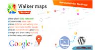 Places google walker maps