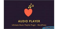 Player audio wordpress