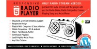 Player radio shoutcast plugin wordpress icecast
