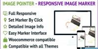 Pointer image marker image responsive