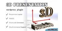 Presentation 3d wordpress plugin display 3d