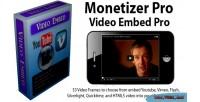 Pro monetizer videoembed pro